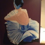 Ballerina op Chloë's kamer